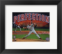 Framed Roy Halladay Perfection Overlay