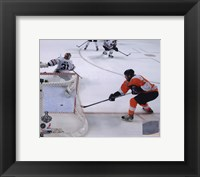 Framed Claude Giroux Game Four of the 2010 NHL Stanley Cup Finals Goal (#15)