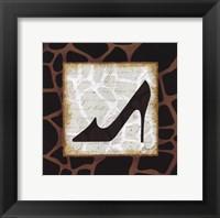Safari Shoes IV Framed Print