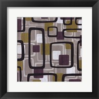 Hip to be Square II Framed Print