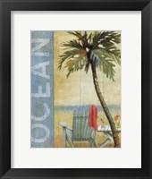 Ocean Beach II Framed Print