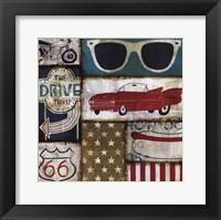 American Pop II Framed Print