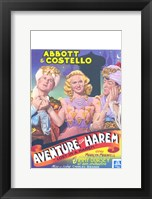 Framed Abbott and Costello, Lost in a Harem, c.1944