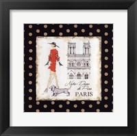 Ladies in Paris IV Framed Print