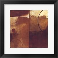 Geometric Spice II Framed Print