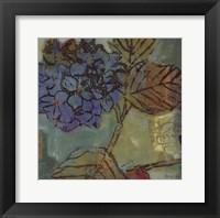 Framed August Blue