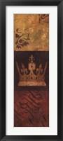 Regal Panel I Framed Print