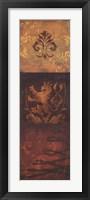 Regal Panel II Framed Print