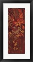 Exotic Flowers I Framed Print