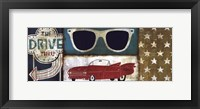 American Pop II Framed Print