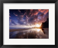 Framed Sunset And Clouds