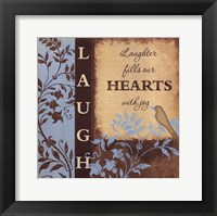 Framed Laugh