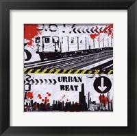 Urban Beat Framed Print