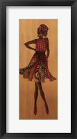 Framed Ebony Style I