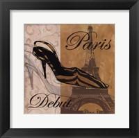 Framed Paris Debut