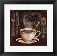 Framed Cafe du Marche