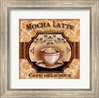 Framed Mocha Latte