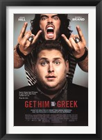 Framed Get Him to the Greek - Jonah Hill