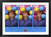 Framed I Love Lucy - Balloons