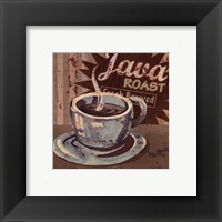 Framed Coffee Brew Sign II - petite