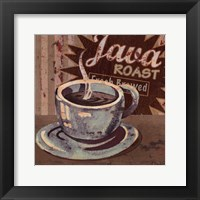 Framed Coffee Brew Sign II