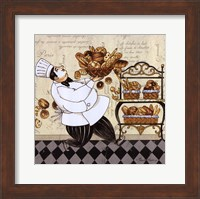 Framed Chef Bread