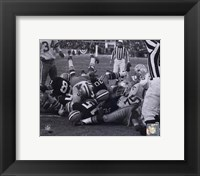Framed Bart Starr 1967 Ice Bowl Touchdown