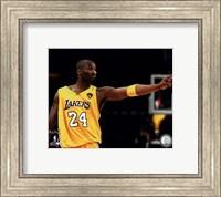 Framed Kobe Bryant - 2010 NBA Finals Game 6 (#16)