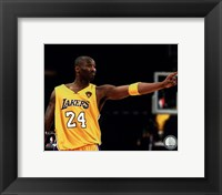 Framed Kobe Bryant - 2010 NBA Finals Game 6 (#16)