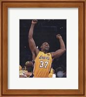 Framed Ron Artest - 2010 NBA Finals Game 7 Celebration (#18)