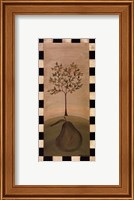 Framed Country Pear