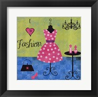 Fashion I Framed Print