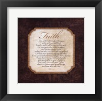 Framed Faith - Matthew