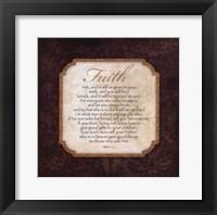 Framed Faith - Matthew