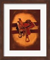 Framed Roger's Saddle