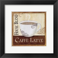 Framed Coffee and Cream I
