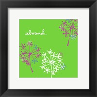 Framed Queen Annes Lace