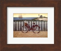 Framed Cycle To The Beach