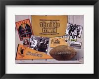 Framed Steelers Memories