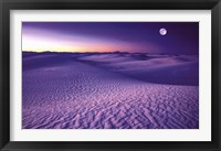 Framed White Sands