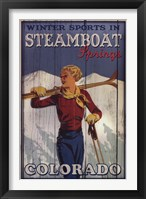Framed Ski Steamboat Springs