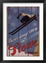 Framed Ski Stowe