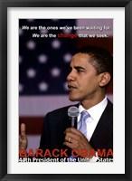 Framed Obama Change