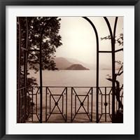 Vista Di Lago No. 1 Framed Print