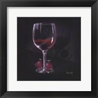 Framed He Devil She Devil Red Wine