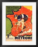 Framed Tour de France 1925