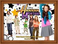Framed Hannah Montana, style D