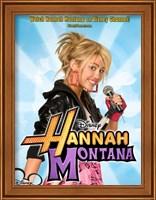 Framed Hannah Montana, style E