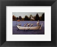 Framed Ladies Of The Lake