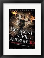 Framed Resident Evil: Afterlife